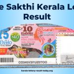 Sthree Sakthi SS-283 Kerala Lottery Result Today 19-10-2021
